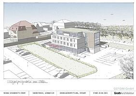 Entwurf Ärztehaus Winnweiler